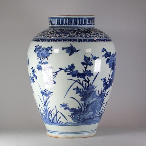 Japanese Arita blue and white vase, circa 1680 - image 1