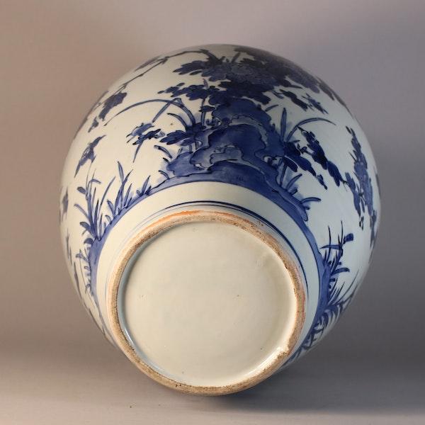 Japanese Arita blue and white vase, circa 1680 - image 2