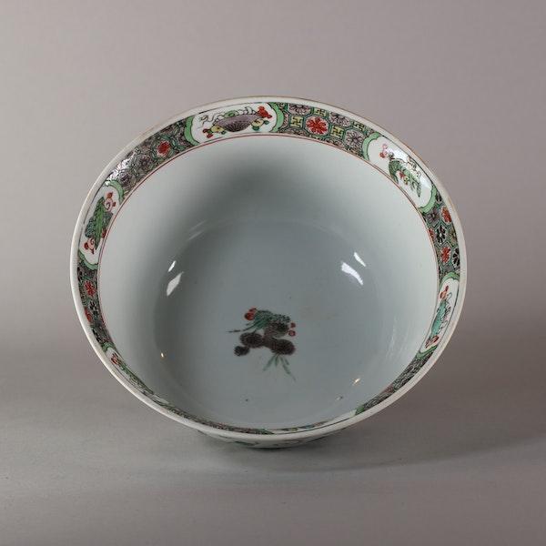 Chinese famille verte bowl, Kangxi (1662-1722) - image 5