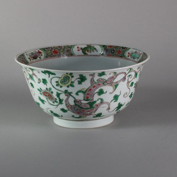 Chinese famille verte bowl, Kangxi (1662-1722) - image 4