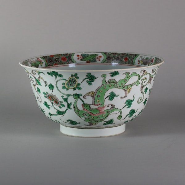Chinese famille verte bowl, Kangxi (1662-1722) - image 1