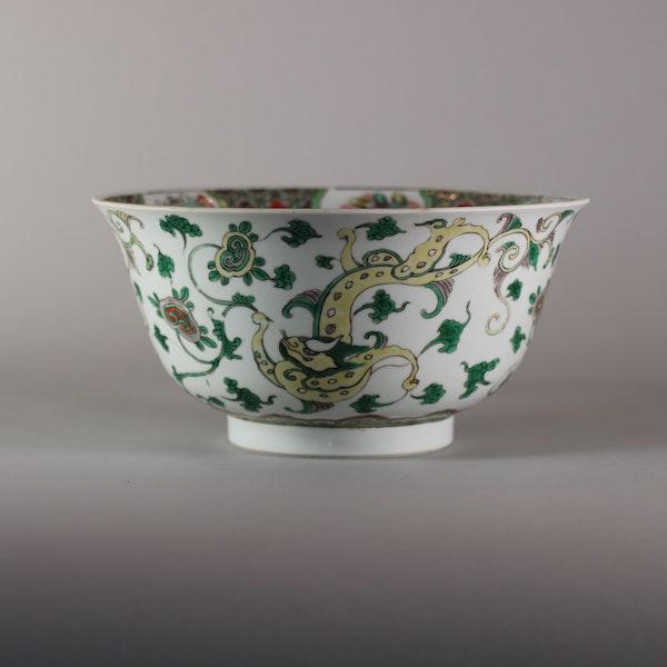 Chinese famille verte bowl, Kangxi (1662-1722) - image 3