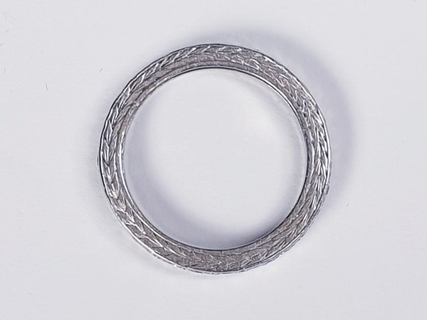 Art Deco Diamond Eternity Ring  DBGEMS - image 1