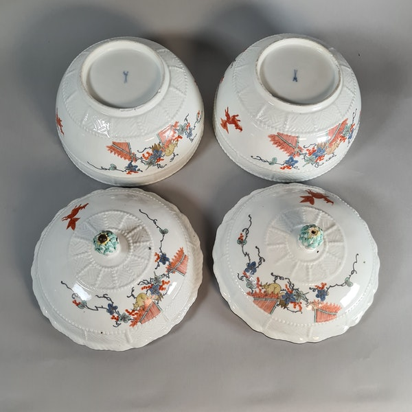 Pair of Meissen circular tureens and covers, circa 1740 - image 2