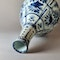 Chinese kraak blue and white bottle vase, Wanli (1573-1619) - image 4