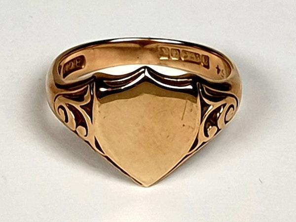 Shield Signet Ring  DBGEMS - image 3