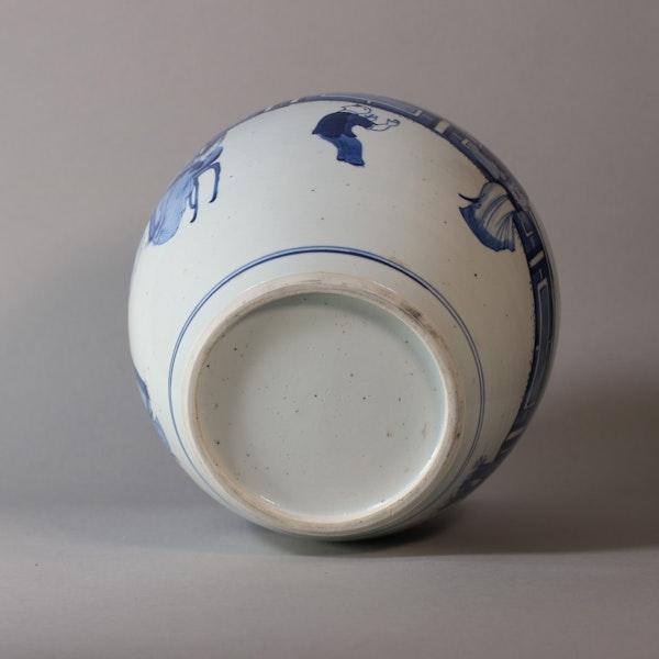 Chinese blue and white ginger jar, Kangxi (1662-1722) - image 2
