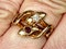 Antique ruby and diamond snake ring  DBGEMS - image 4