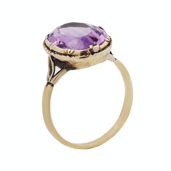 Georgian Amethyst Ring - image 2