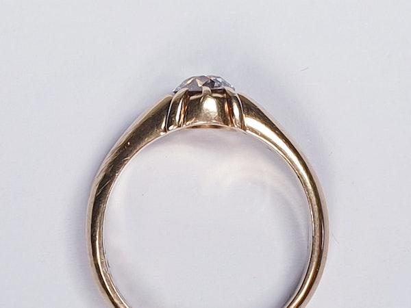 Gentleman's old cut diamond ring  DBGEMS - image 7