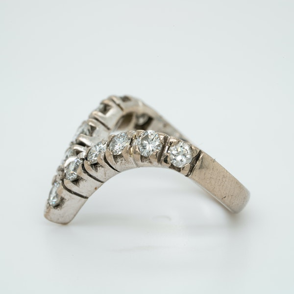 18K white gold 1.25ct Diamond Ring - image 3