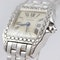Cartier Ladies Santos Demoiselle, 18K White Gold, Diamond, Cartier service in 2018 - image 3