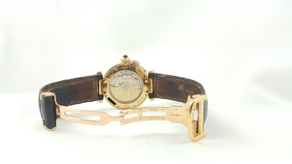 Cartier Pasha 18K Night & Day 38mm Automatic Deployant Clasp - image 8