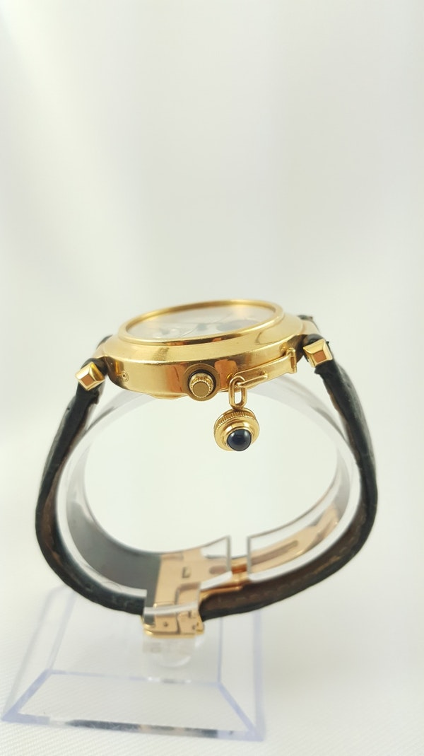 Cartier Pasha 18K Night & Day 38mm Automatic Deployant Clasp - image 6