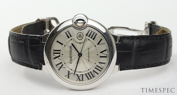 Cartier Ballon Bleu 42mm 18K White Gold Automatic with Box - image 7