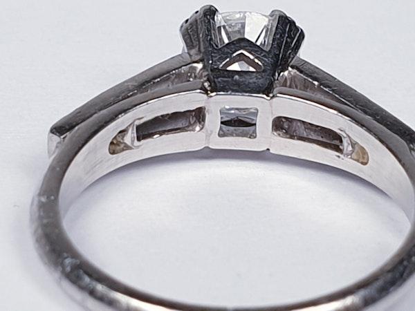 Old European Transitional Cut Diamond Ring  DBGEMS - image 3