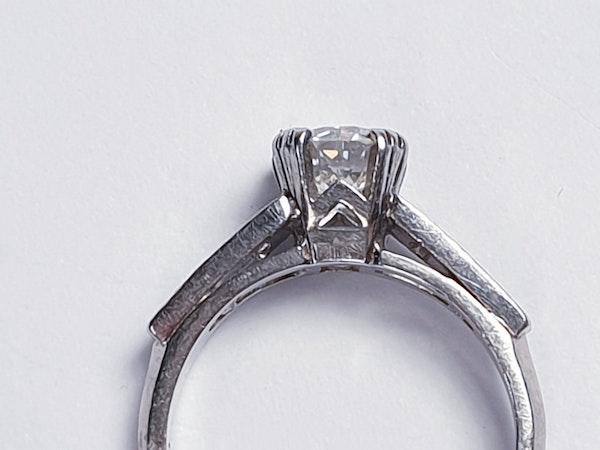 Old European Transitional Cut Diamond Ring  DBGEMS - image 4