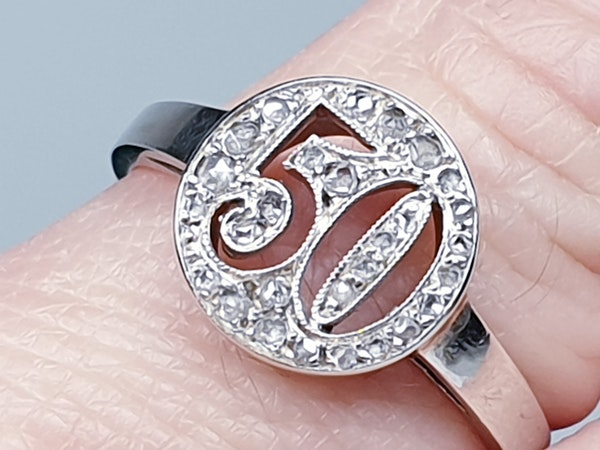 50 diamond ring  DBGEMS - image 1