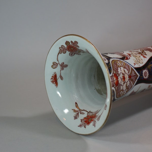 Japanese imari trumpet vase, Edo period, 18th century - image 5