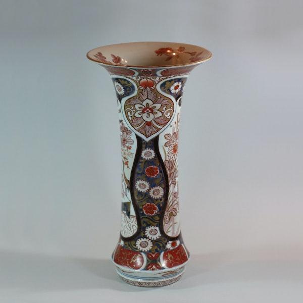 Japanese imari trumpet vase, Edo period, 18th century - image 6