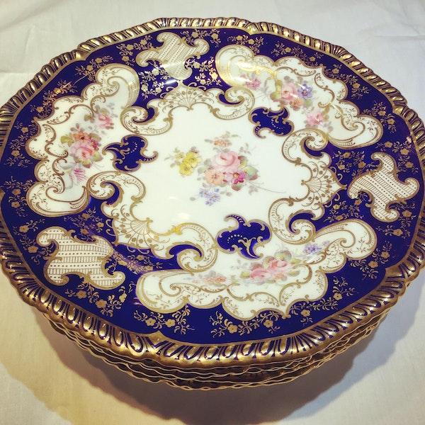Set of   Royal Crown Derby plates - image 2