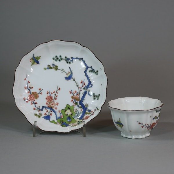 Meissen octafoil teabowl and saucer, circa 1735 - image 4