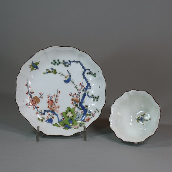 Meissen octafoil teabowl and saucer, circa 1735 - image 2