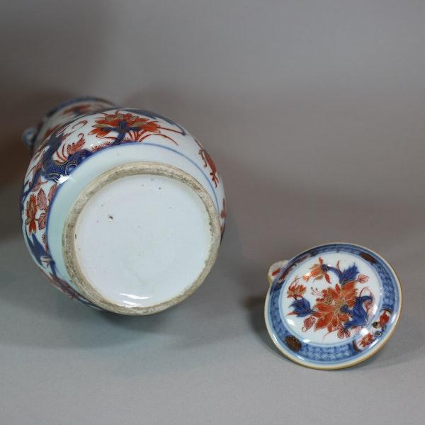 Chinese imari jug and basin, late Kangxi (circa 1720) - image 4