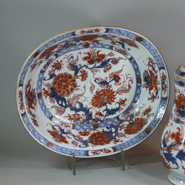 Chinese imari jug and basin, late Kangxi (circa 1720) - image 7