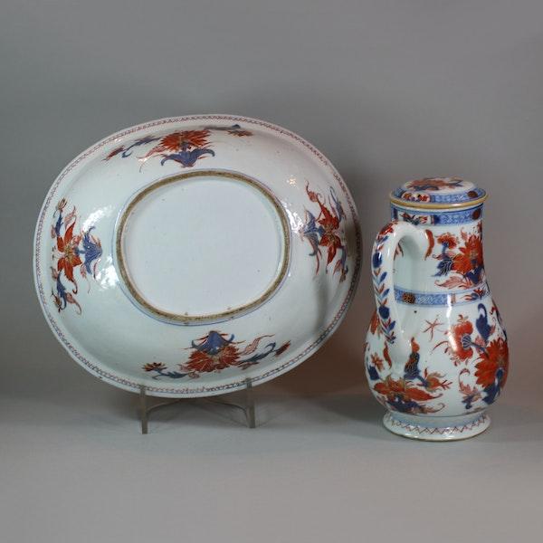 Chinese imari jug and basin, late Kangxi (circa 1720) - image 3
