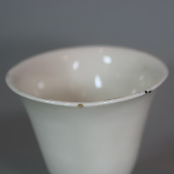 Chinese blanc de chine cup, late Ming - image 5