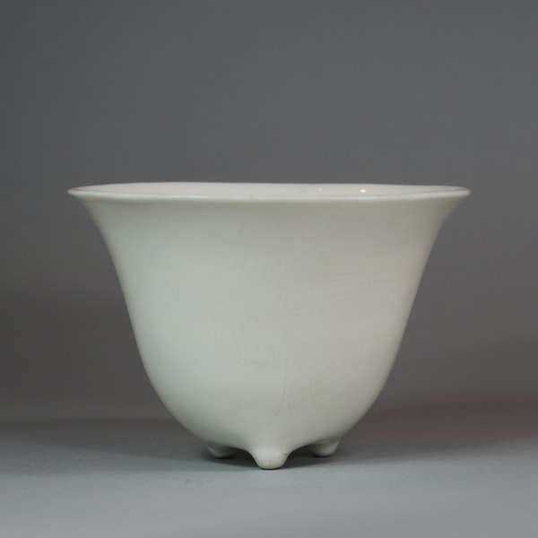 Chinese blanc de chine cup, late Ming - image 4
