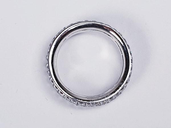 Three Row Diamond Eternity Ring  DBGEMS - image 1