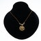 Victorian pearl  necklet/brooch in 15 ct gold - image 1