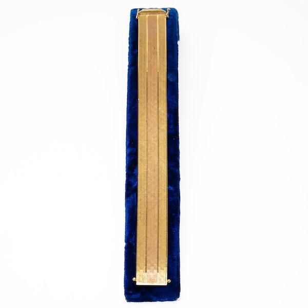 Vintage18 ct gold bracelet - image 1