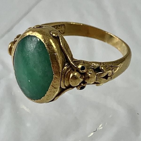 Jade ring - image 1