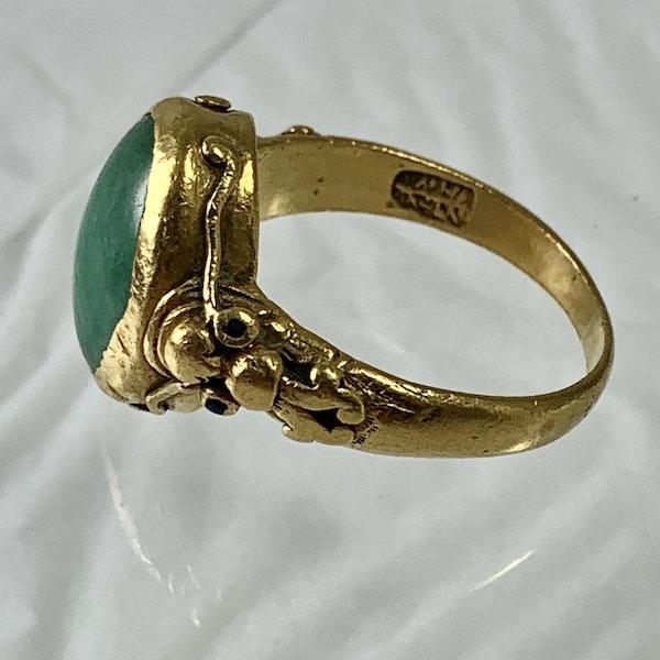 Jade ring - image 2