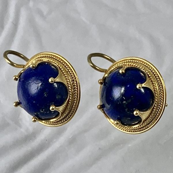 Lapis earrings - image 1