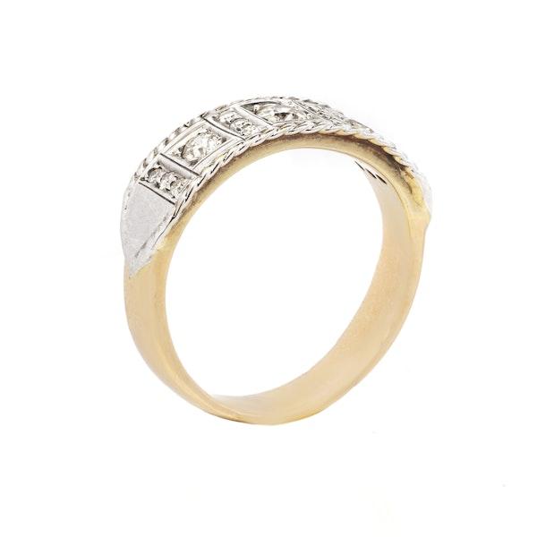 18K yellow/white gold 1.00ct Diamond Ring - image 2