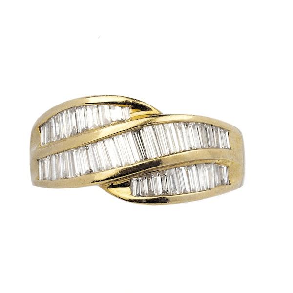 18K yellow gold 2.50ct Diamond Ring - image 1