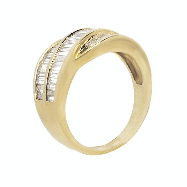 18K yellow gold 2.50ct Diamond Ring - image 2