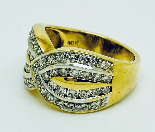 18K yellow gold 1.20ct Diamond Ring - image 4