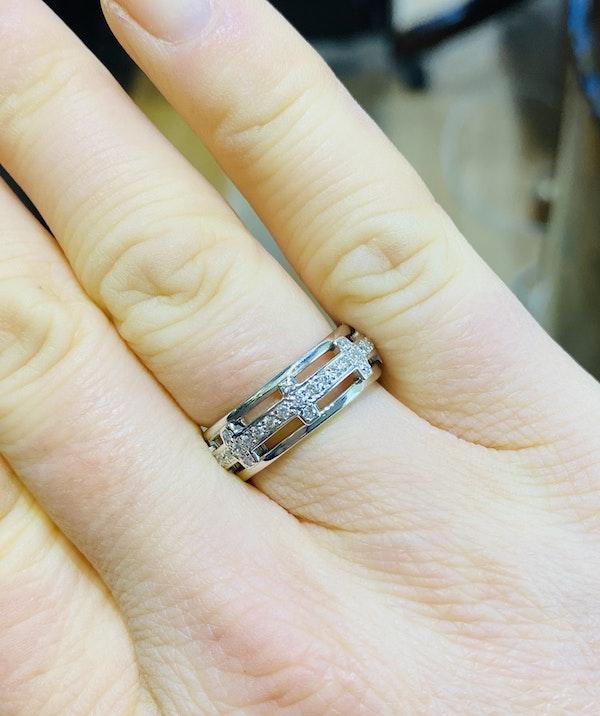 Eternity, 18K white gold 1.25ct Diamond Ring - image 2