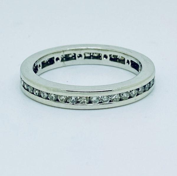 Eternity, Platinum 1.25ct Diamond Ring - image 1