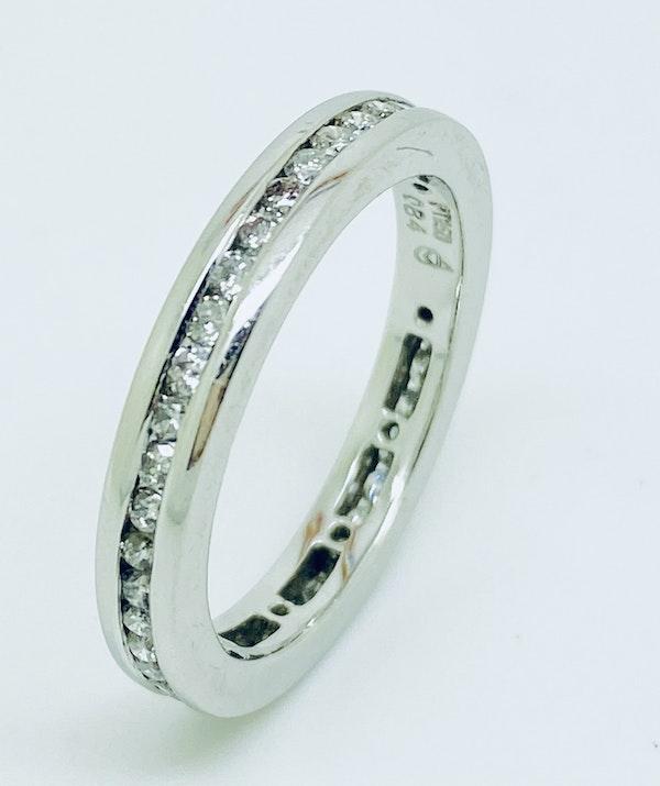 Eternity, Platinum 1.25ct Diamond Ring - image 2