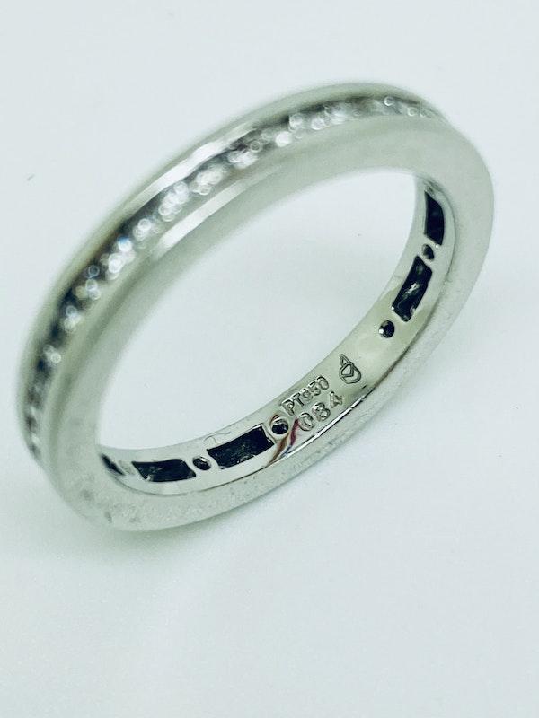 Eternity, Platinum 1.25ct Diamond Ring - image 3