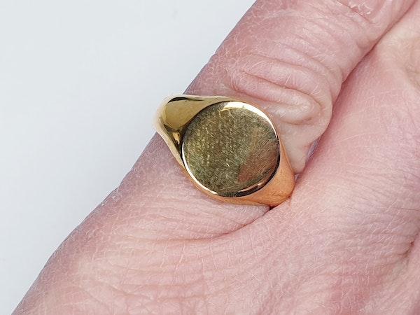 Gold Signet Ring  DBGEMS - image 3