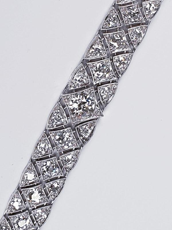 Articulated Art Deco Diamond Bracelet  DBGEMS - image 4