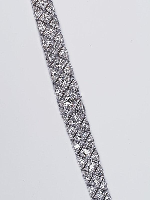 Articulated Art Deco Diamond Bracelet  DBGEMS - image 2