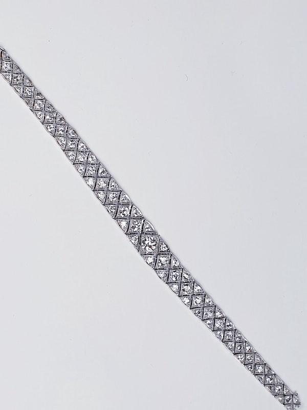 Articulated Art Deco Diamond Bracelet  DBGEMS - image 3